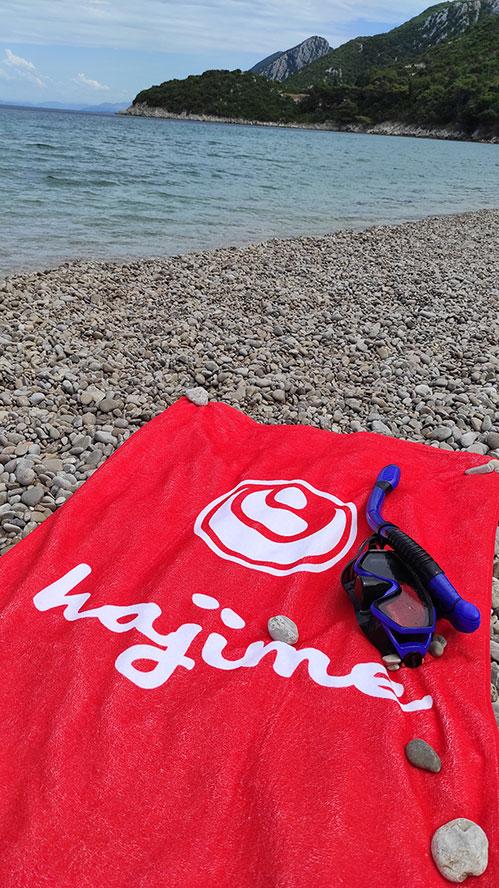Plażowe ręczniki reklamowe - sportowe